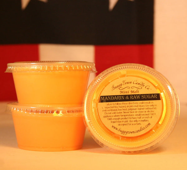 Mandarin & Raw Sugar Candles