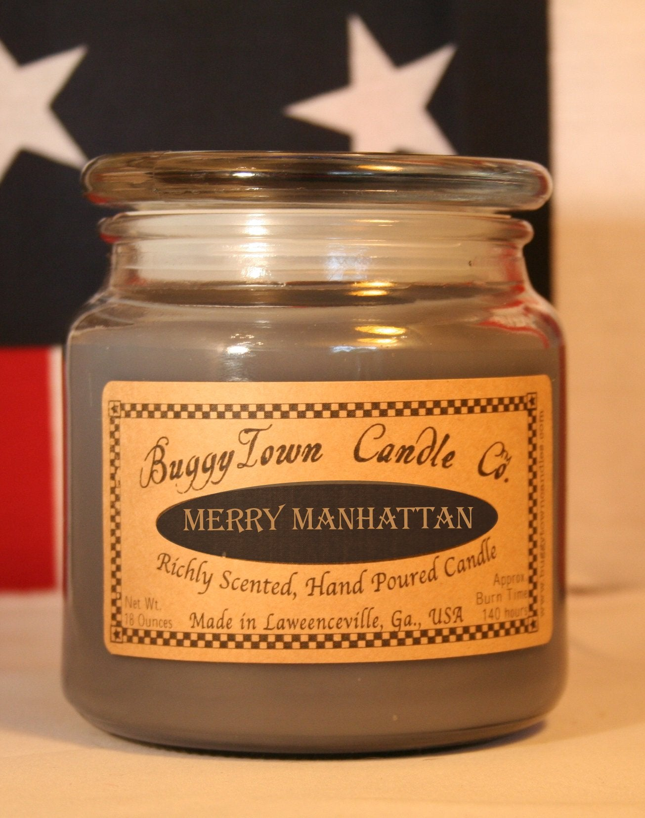 Merry Manhattan Candles