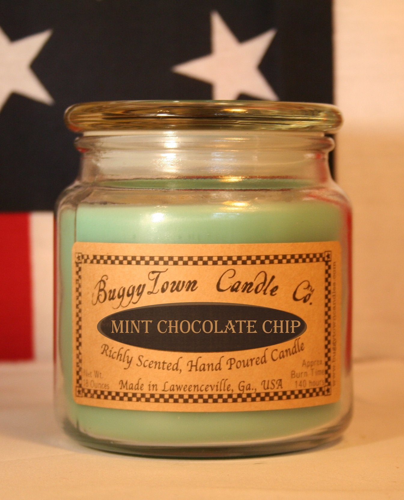 Mint Chocolate Chip Candles