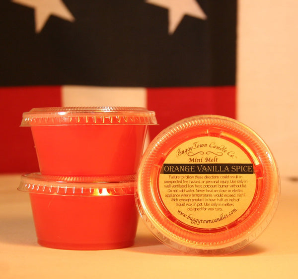 Orange Vanilla Spice Candles