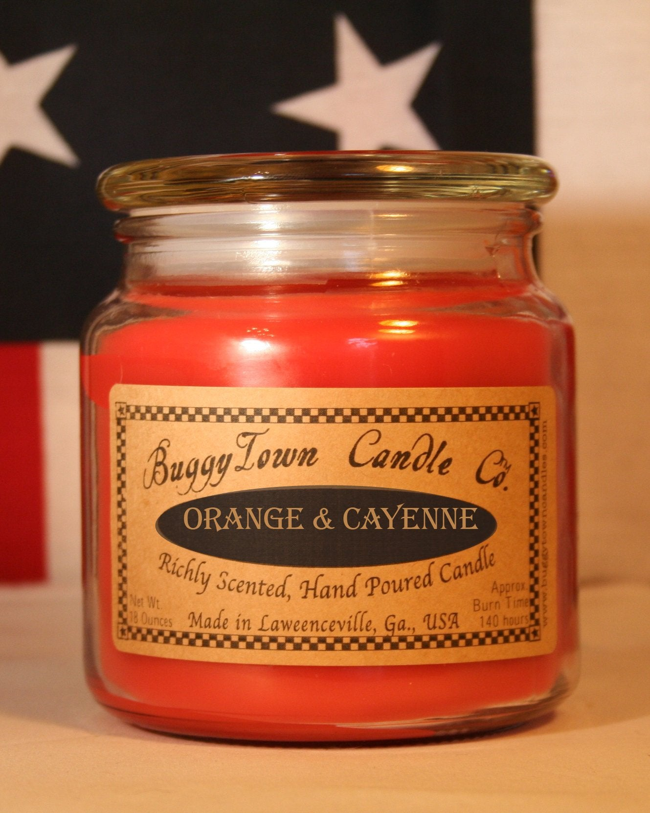 Orange & Cayenne Candles