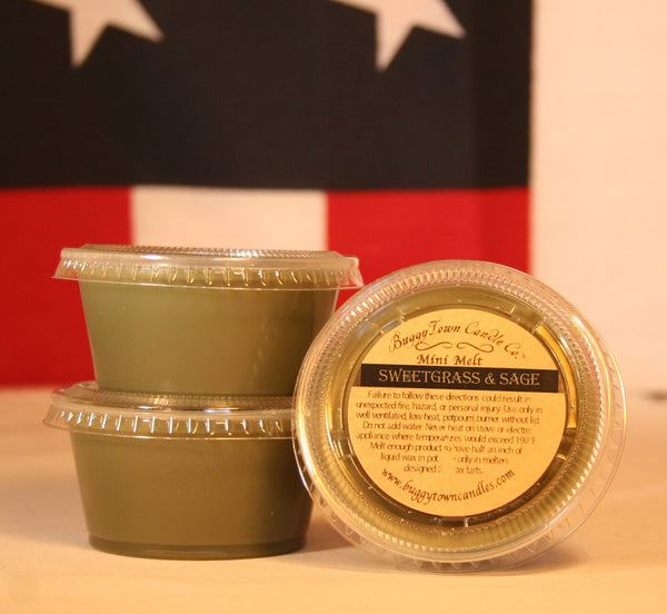 Sweetgrass & Sage Candles