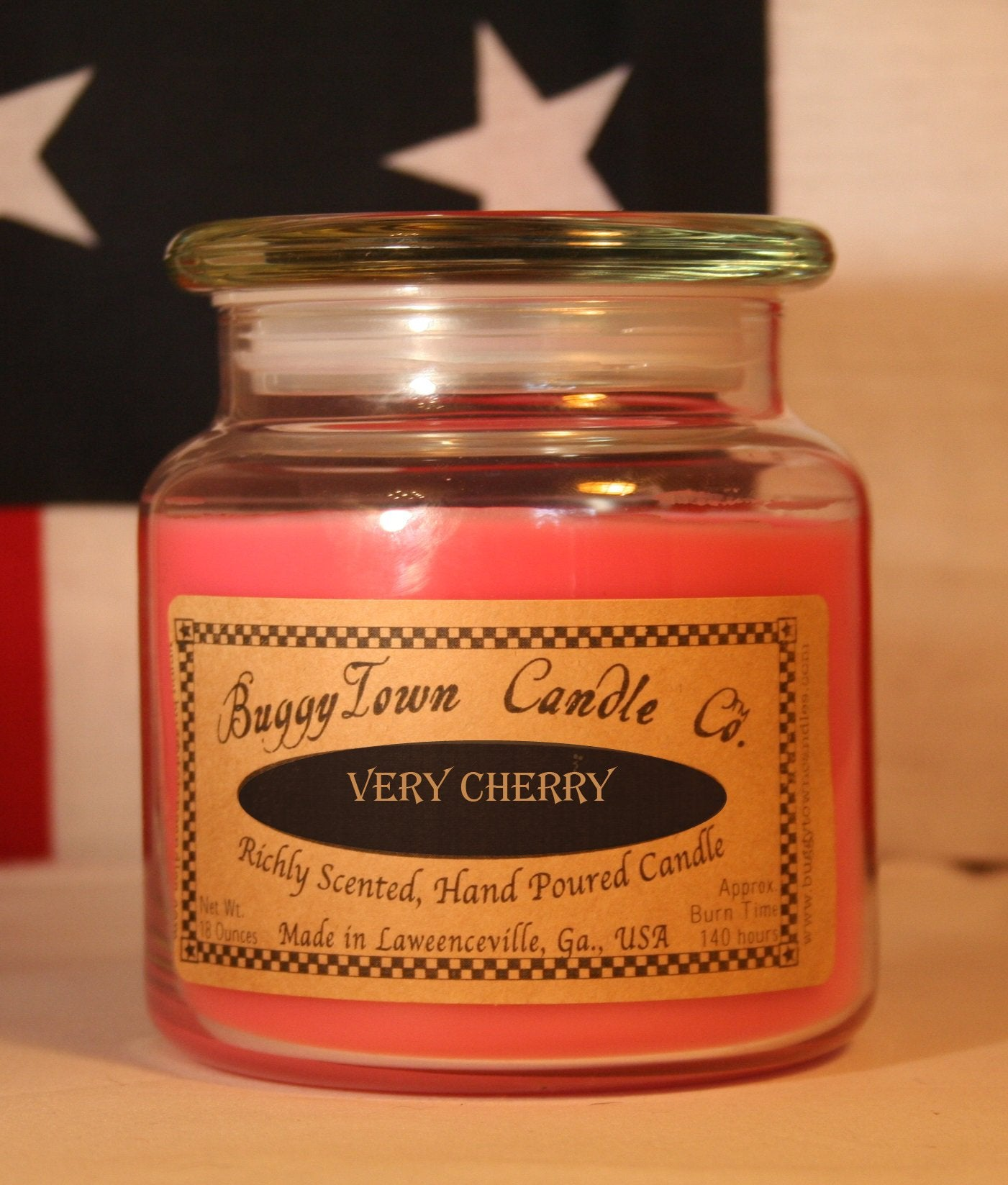 Very Cherry Candles