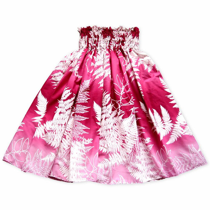 palia pink single hawaiian pa'u hula skirt