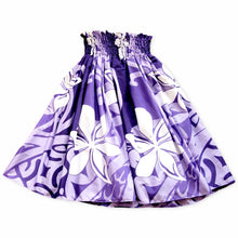 Load image into Gallery viewer, tiare swirl purple single hawaiian pa'u hula skirt