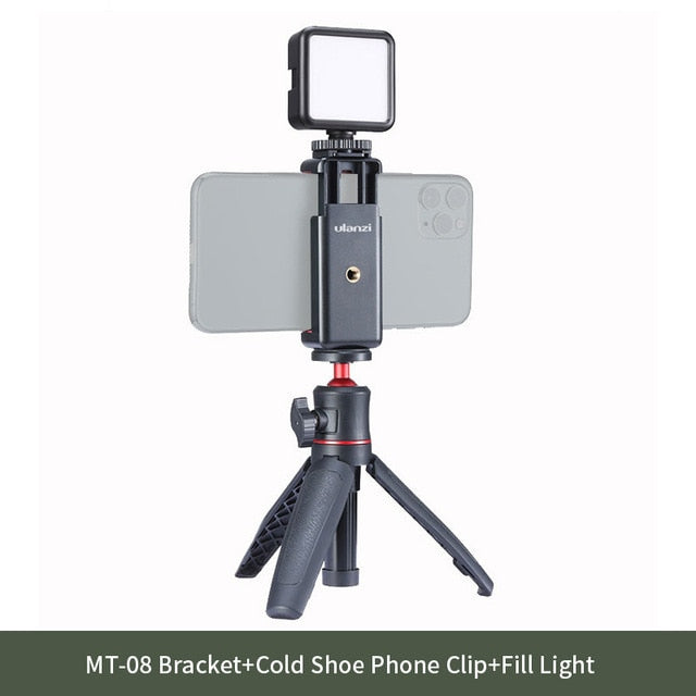 Extendable Selfie Stick Tripod With Microphone