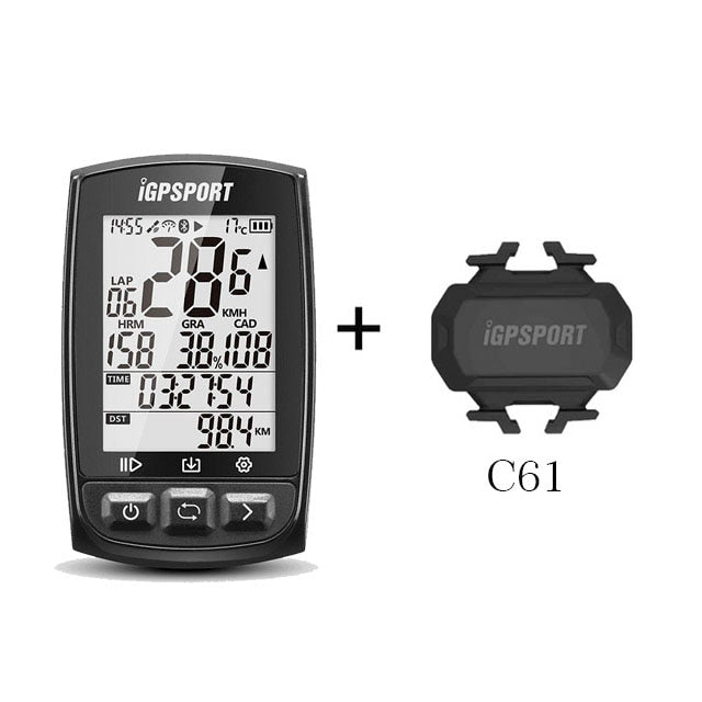 iGPSPORT IGS50E GPS Cycling Computer Wireless Speedometer