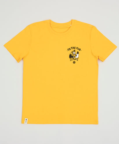 To The Pub t-shirt - Yellow