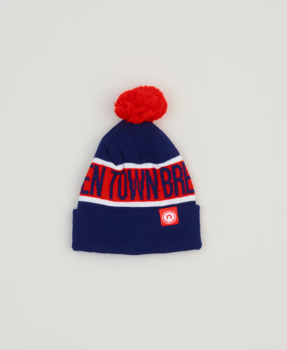 Camden Navy and Red Beanie