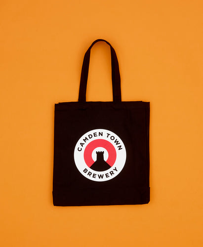 CAMDEN LOGO BLACK TOTE BAG