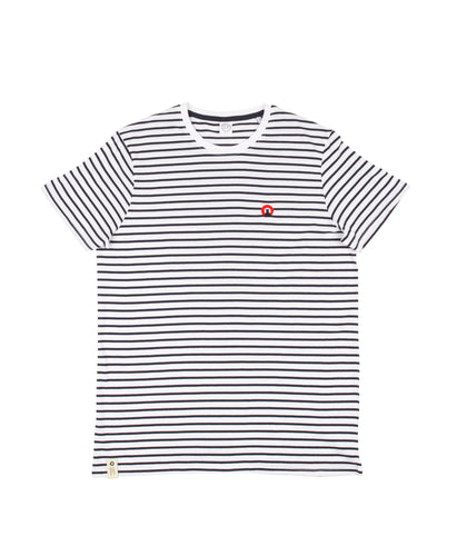 Short Sleeve Striped 'Luce' Tee