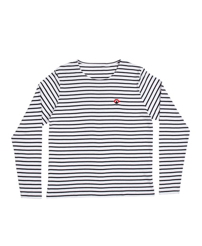Long Sleeved Striped 'Luce' Tee
