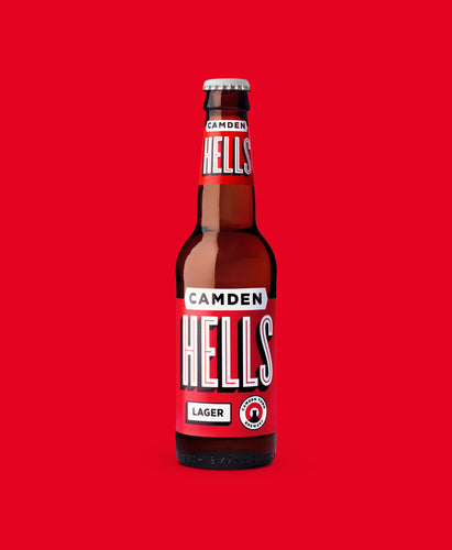Camden Hells Lager 330ml Bottle