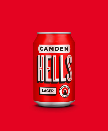 Camden Hells Lager 330ml Can