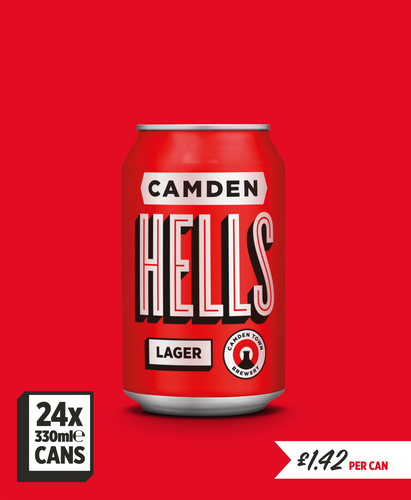 Hells Lager - 24 can pack