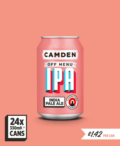 Off Menu IPA - 24 can pack