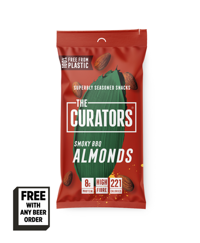 The Curators Almonds - Smoky BBQ