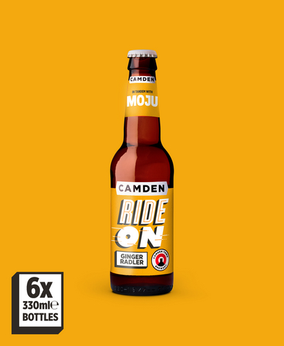 Camden X MOJU Ride On Ginger Radler – 6 Pack