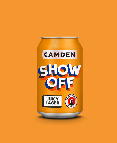Show Off Juicy Lager Can