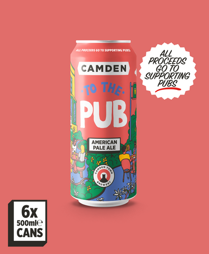 To The Pub - 6 X 500ml Cans