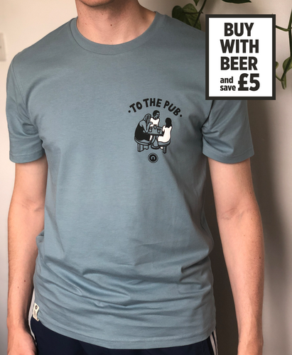 To The Pub t-shirt - Blue