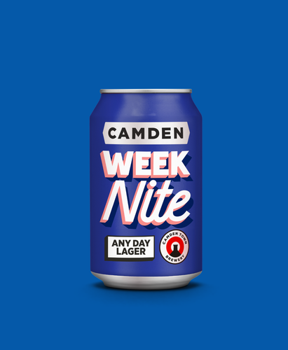 Week Nite Any Day Lager Can