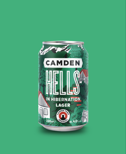 Hells in Hibernation Lager Can