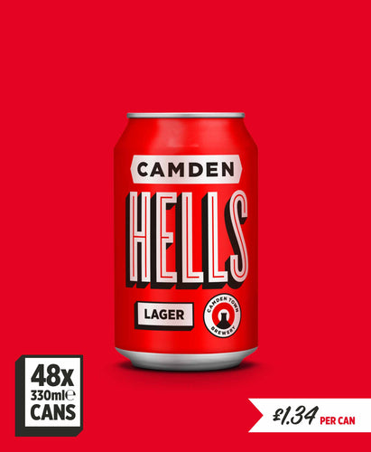 Hells Lager - 48 can pack