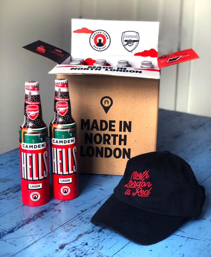 Arsenal Match Day Box with Cap