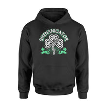Load image into Gallery viewer, Shenanigator Irish St Patrick's Day - Standard Hoodie Apparel S / Black