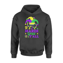 Load image into Gallery viewer, It's Mardi Gras Y'all - Standard Hoodie Apparel S / Black