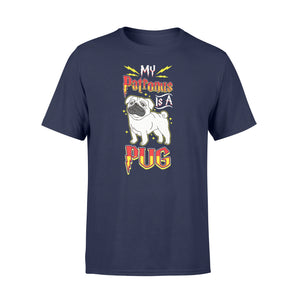 My Patronus Is A Pug Dog Lovers - Standard T-shirt Apparel S / Navy