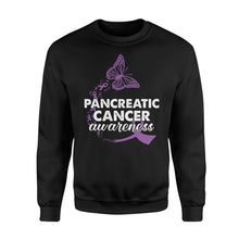Load image into Gallery viewer, Pancreatic Cancer Awareness - Standard Fleece Sweatshirt Apparel S / Black