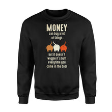 Load image into Gallery viewer, Money Can Buy A Lot Of Things Dog Lover - Standard Fleece Sweatshirt Apparel S / Black