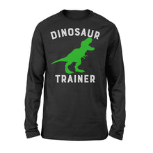 Load image into Gallery viewer, Dinosaur Trainer T-Rex - Standard Long Sleeve Apparel S / Black