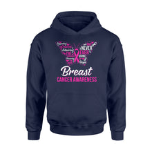 Load image into Gallery viewer, Supporting The Fighters Admiring The Survivors Breast Cancer Awareness - Standard Hoodie