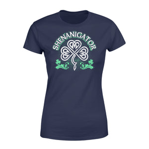 Shenanigator Irish St Patrick's Day - Standard Women's T-shirt Apparel XS / Navy
