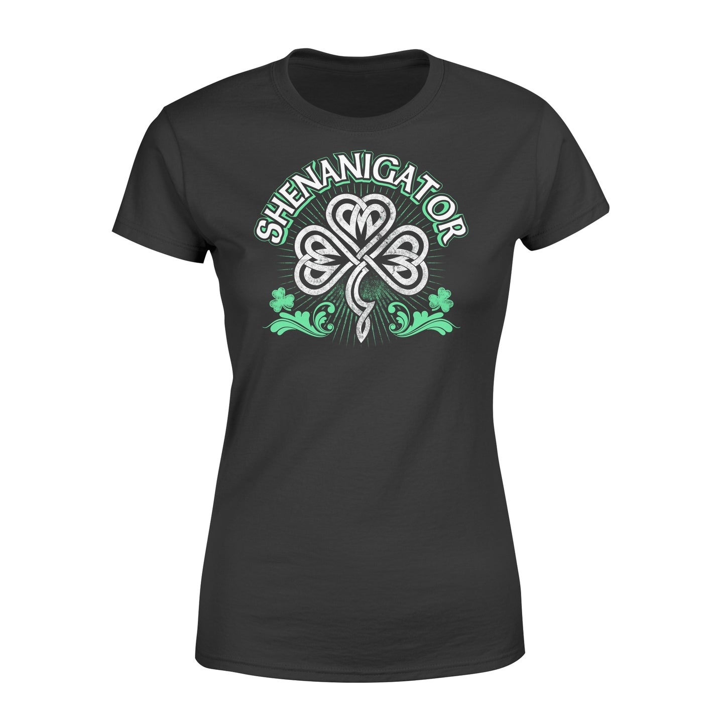 Shenanigator Irish St Patrick's Day - Standard Women's T-shirt Apparel XS / Black