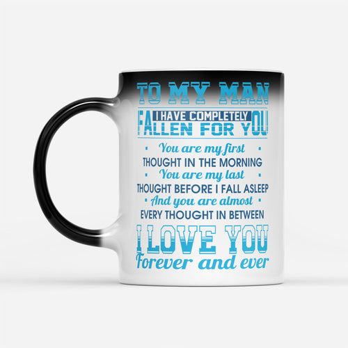 Awesome Groom Husband Fiance Mug Love Quote From Lover Gift For Sale - Color Changing Mug Drinkware 11oz