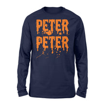 Load image into Gallery viewer, Peter Peter Pumpkin - Standard Long Sleeve Apparel S / Navy