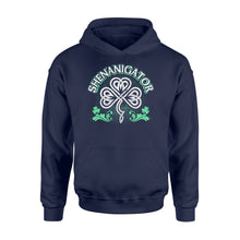 Load image into Gallery viewer, Shenanigator Irish St Patrick's Day - Standard Hoodie Apparel S / Navy