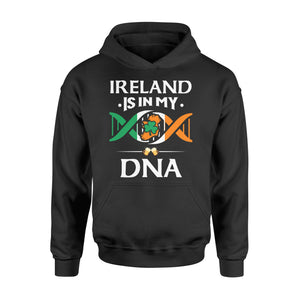 Ireland Is In My DNA Beer Irish Saint Patrick's Day Tee - Standard Hoodie Apparel S / Black
