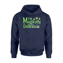 Load image into Gallery viewer, I'm Magically Delicious Irish Day - Standard Hoodie Apparel S / Navy