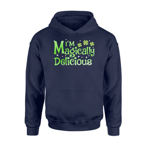 I'm Magically Delicious Irish Day - Standard Hoodie Apparel S / Navy