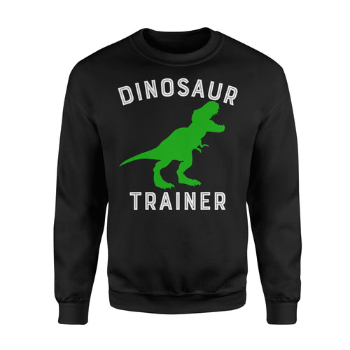 Dinosaur Trainer T-Rex - Standard Fleece Sweatshirt Apparel S / Black