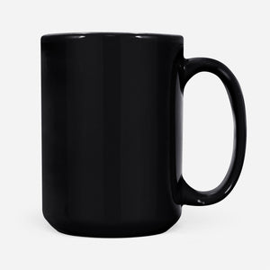 Cool Graphic Design Viking Women Rocking The Shieldmaiden Life Mug - Black Mug Drinkware [variant_title]