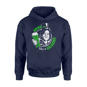 Drink Gallagher Irish St Patrick's Day - Standard Hoodie