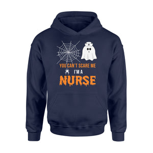 Nursing Halloween You Can't Scare Me I'm A Nurse - Standard Hoodie Apparel S / Navy