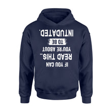 Load image into Gallery viewer, If You Can Read This You're About to be Intubated - Standard Hoodie Apparel S / Navy