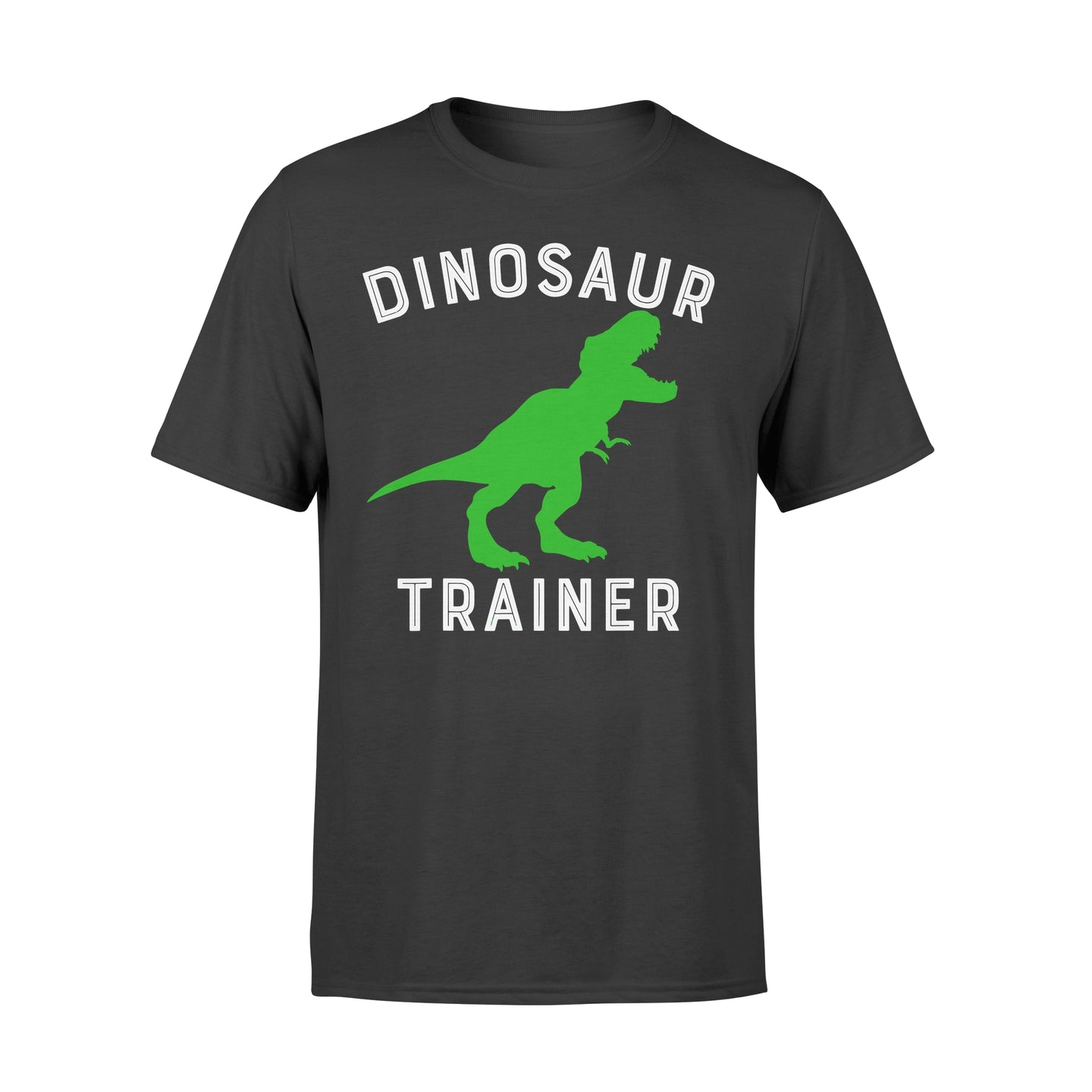 Dinosaur Trainer T-Rex - Standard T-shirt Apparel S / Black